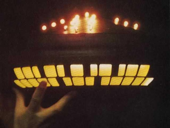 Close Up of a UFO Model from Close Encounters