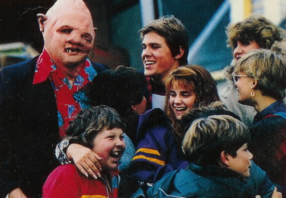 Goonies Behind the scenes
