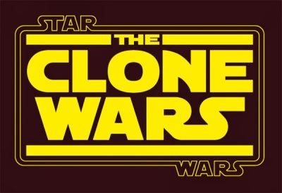 the clone wars logo