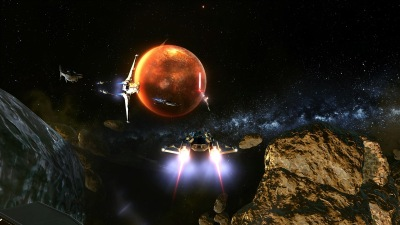 galactic starfighter screenshot