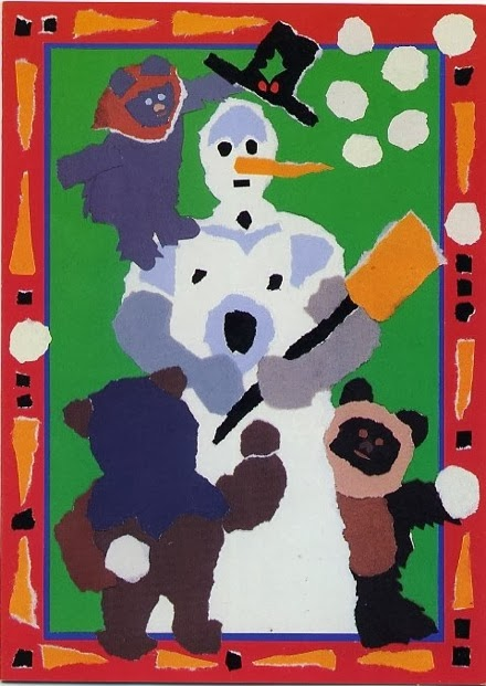 1986 Lucasfilm Christmas Card