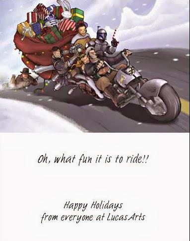 2002 Lucasarts Christmas Card