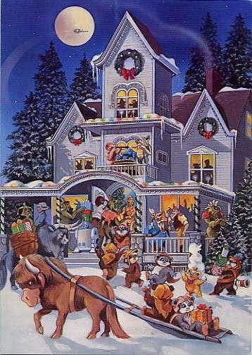 1985 Lucasfilm Christmas Card