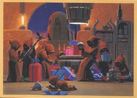 1994 Lucasfilm Christmas Card