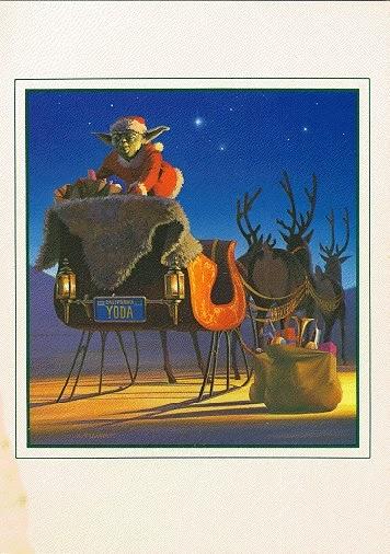 1982 Lucasfilm Christmas Card