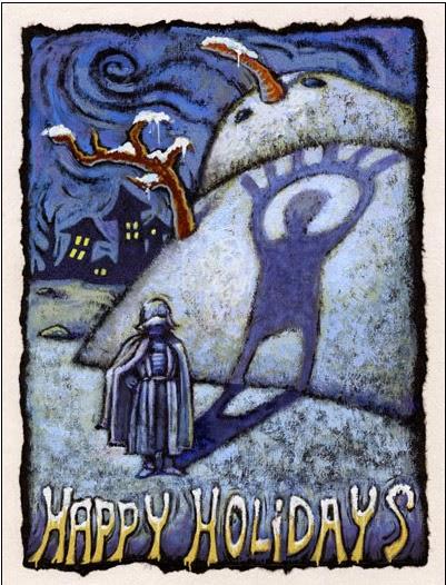2000 Lucasarts Christmas Card