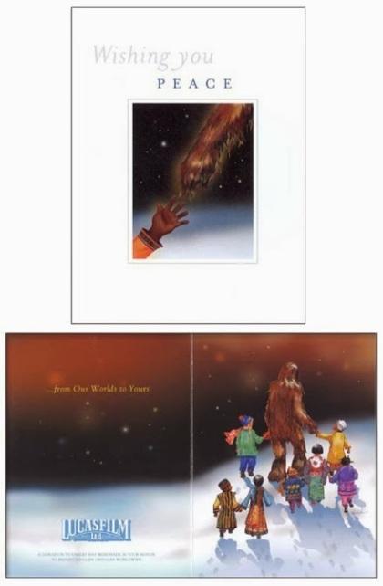 2001 Lucasfilm Christmas Card