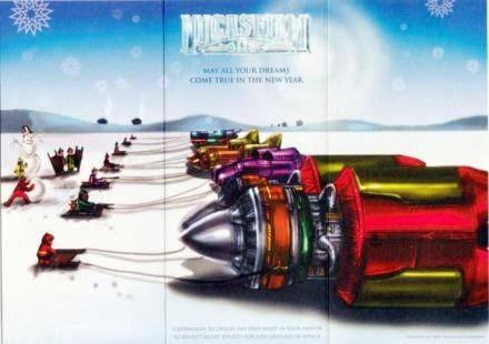 2000 Lucasfilm Christmas Card