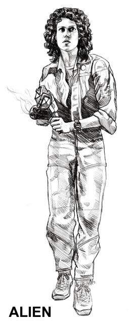 ellen ripley action figure