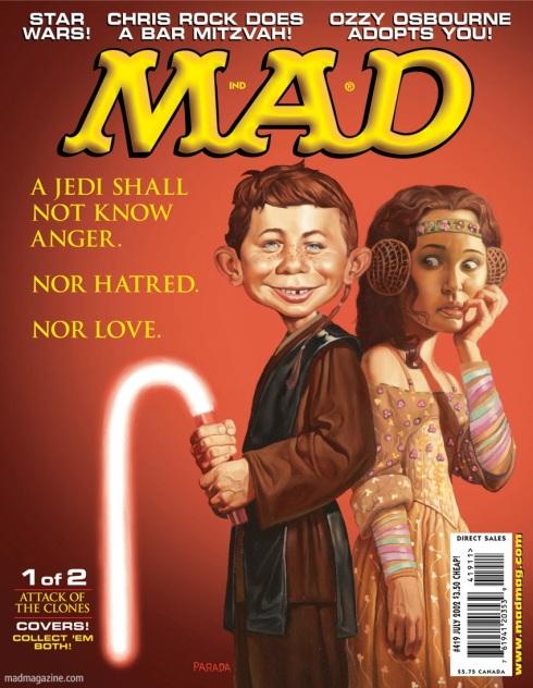 mad magazine star wars