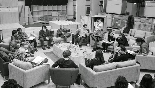 star wars vii cast photo