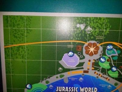 jurassic World map